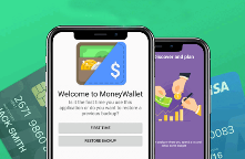 Money Wallet Android app Banner